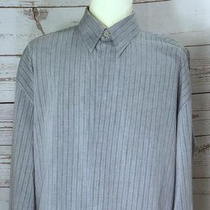 Vintage Versace Men's Shirt XL